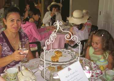 Mother-Daughter Tea with Style and Humor